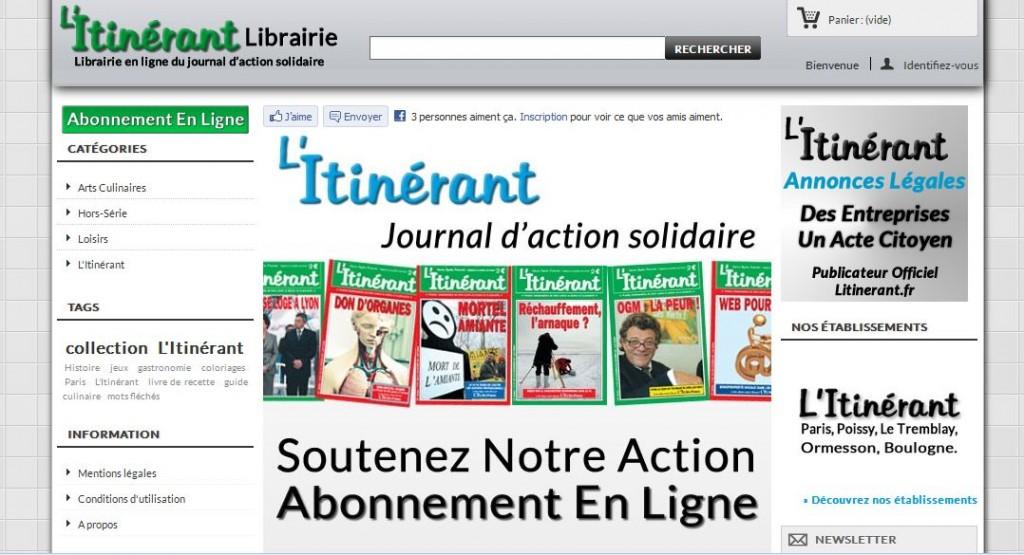 Librairie-litinerant.com