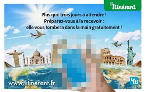 J-3 annonces légales L'Itinérant